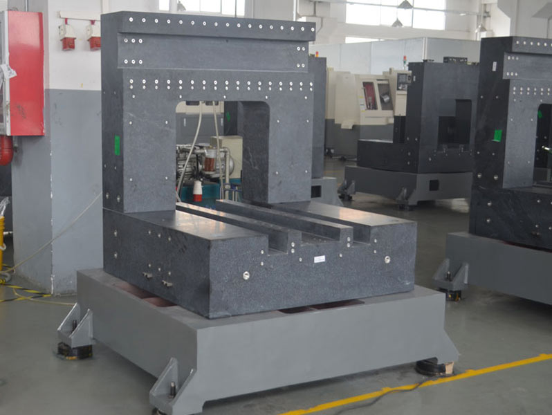 CNC high-speed machine base part